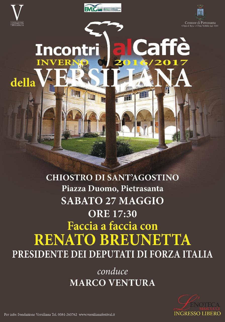 Faccia a faccia con renato brunetta presidente dei for Deputati di forza italia