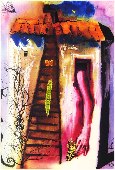 le_illustrazioni_di_salvador_dalì_per_alice_in_Wonderland_4