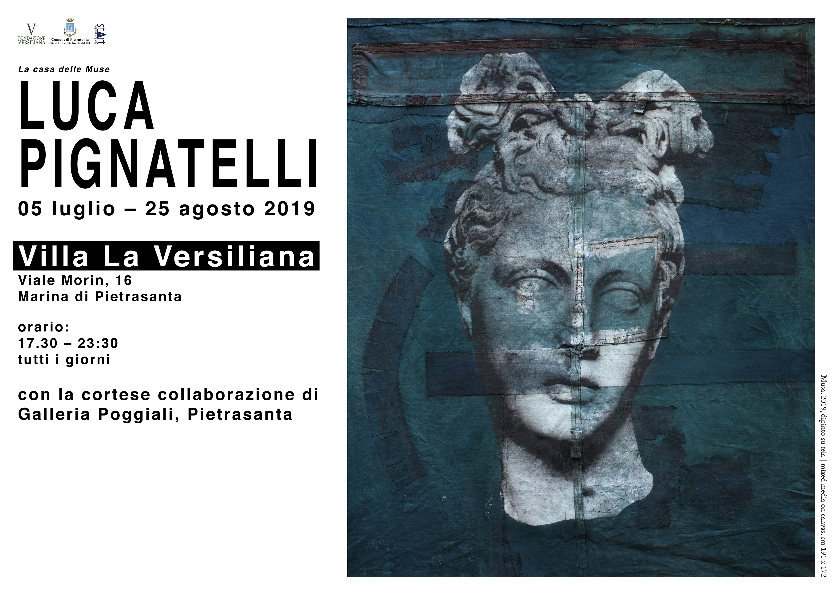 00fe2c8225b5 La casa delle Muse, due mesi in Versiliana con le opere di Pignatelli